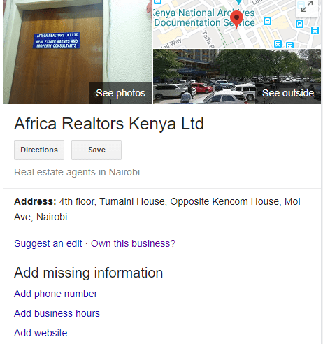 claim google my business listing