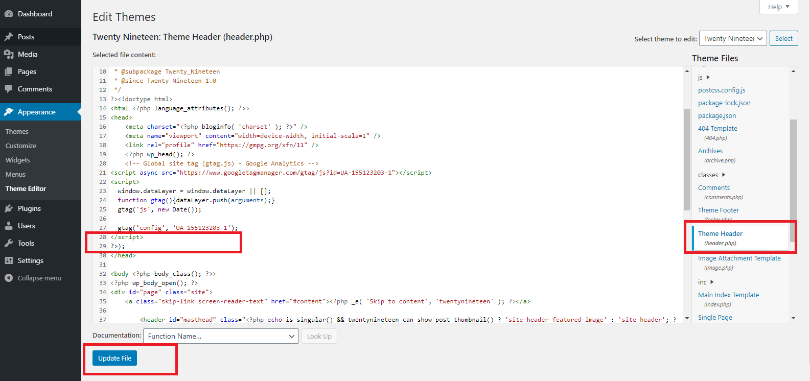 How to Remove ?>); from WordPress